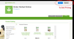 Herbalife Pricing