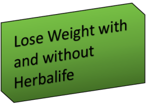 Lose Weight with and without Herbalife