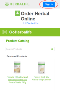 Mobile to See Herbalife Prices